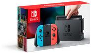Nintendo Switch (Joy-Con rosso neon e blu neon) - Boxart