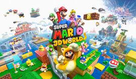 Grand Group Artwork - Super Mario 3D World