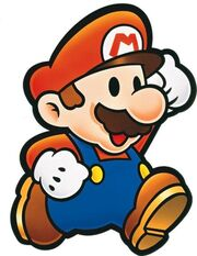 Mario Artwork - Paper Mario