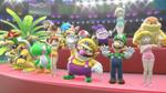 Mario & Sonic ai Giochi Olimpici di Rio 2016 premiazione