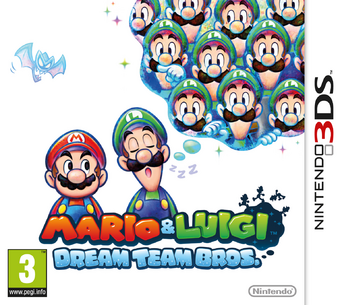 Mario Luigi Dream Team Bros Mario Wiki Fandom
