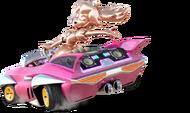 Peach Oro Rosa Artwork - Mario Kart 8