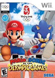 Mario & Sonic ai Giochi Olimpici (Wii) - Boxart NA
