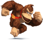 Donkey Kong Artwork - Super Smash Bros. per Nintendo 3DS e Wii U