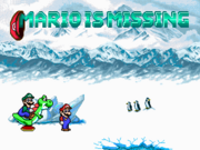 Schermo del titolo Screenshot - Mario is Missing! (DOS)