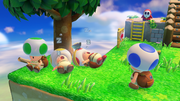 Capitan Toad Truppa Toad (riposo) Screenshot - Captain Toad Trasure Tracker