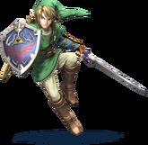 Link Artwork - Super Smash Bros. per Nintendo 3DS e Wii U