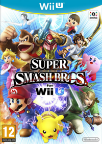 Super Smash Bros. per Wii U - Boxart EUR