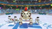 Skelobowser Mario & Sonic ai Giochi Olimpici Invernali (Wii)