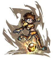 MarioStrikersChargedFootball Daisy