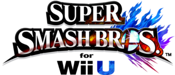 Logo SSB4 WiiU