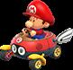 Baby Mario Sprite - MK8