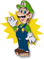 Promotional Pin - The Year of Luigi