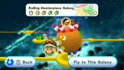 Rolling Masterpiece Galaxy