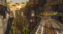 Miniera d'oro di Wario Screenshot - Mario Kart Wii