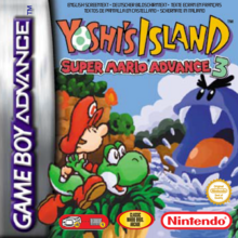 Yoshi's Island Super Mario Advance 3 - Boxart EUR