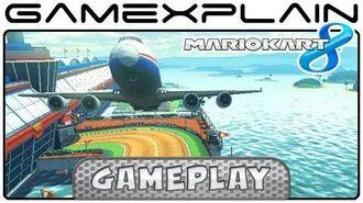 Mario Kart 8- Sunshine Airport Gameplay (Wii U Direct Feed)