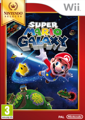 Super Mario Galaxy - Boxart EUR (Nintendo Selects)