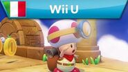 Captain Toad Treasure Tracker - Trailer d'annuncio (Wii U)