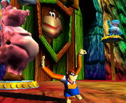 Troff & Scoff Screenshot - Donkey Kong 64