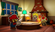 Intro Screenshot - Paper Mario Color Splash