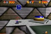 Mario Invisibile, Blocco! Blu, Interruttore! Blu (usato)