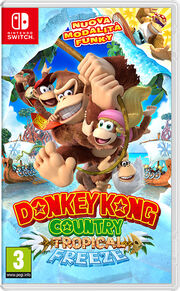 Donkey Kong Country Tropical Freeze (Nintendo Switch) - Boxart ITA