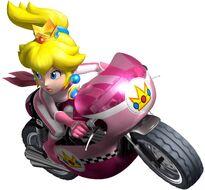 Mario Kart Wii - Peach motorbike
