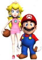 NBA Peach Mario