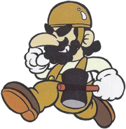 Foreman Spike (Mario Character Encyclopedia)