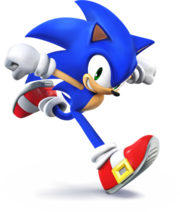Sonic the Hedgehog Artwork - Super Smash Bros. per Nintendo 3DS e Wii U