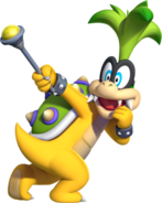 Iggy Koopa Artwork - NSMBU