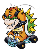 Bowser Artwork - SMK