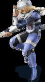 Sheik Artwork - Super Smash Bros. per Nintendo 3DS e Wii U