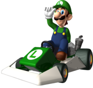 MarioKartDS-Luigi