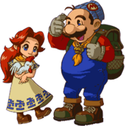Talon and malon oracle of seasons gameboy color artwork