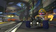 Wario Mariopolitana Screenshot - Mario Kart 8