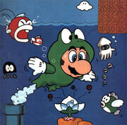 Mondo 3 Illustrazione - Super Mario Bros. 3