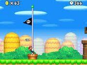 New Super Mario Bros. Traguardo