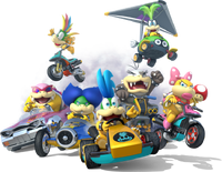 Bowserotti Mario Kart 8
