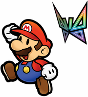 Mario e Consilia Artwork - Super Paper Mario