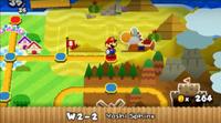 Sfinge Yoshi-Paper Mario Sticker Star