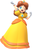 Daisy Artwork - Super Mario Party