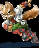 Fox Artwork - Super Smash Bros. per Nintendo 3DS e Wii U