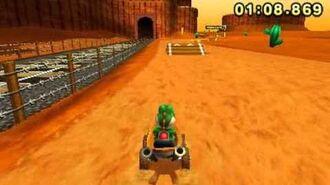 Mario Kart 7 - N64 Kalimari Desert