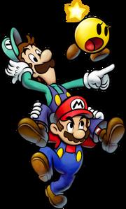Mario Luigi Dorastella Artwork - Mario & Luigi Viaggio al Centro di Bowser