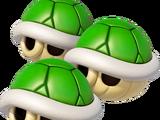 Triplo guscio verde