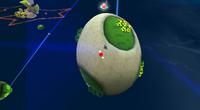 Galassia Uovo (Pianeta Uovo) Screenshot - Super Mario Galaxy