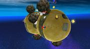 Galassia Uovo (Pianeta dei massi) Screenshot - Super Mario Galaxy