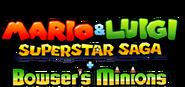 Mario & Luigi Superstar Saga Scagnozzi di Bowser - Logo EN
